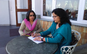 डेली पोस्ट समाचार पत्र की हिमाचल ब्यूरो अर्चना फुल से हिम शिमला लाइव की संपादक सरिता चौहान से ख़ास मुलाकात