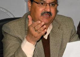 भाजपा आलाकमान ने रक्षा मंत्री निर्मला सीतारमण व नरेंद्र तोमर को किया हिमाचल प्रदेश के लिए पर्यवेक्षक नियुक्त :नड्डा