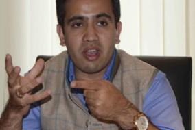 हिमाचल प्रदेश युवा कांग्रेस के अध्यक्ष विक्रमादित्य सिंह