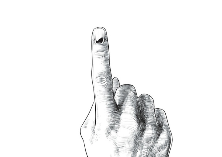 हिमाचल उप-चुनावों में 69 प्रतिशत मतदान दर्ज