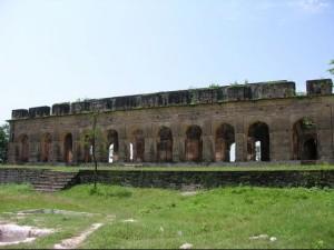 कांगड़ा के शाही परिवार ने कराया था किले का निर्माण ।