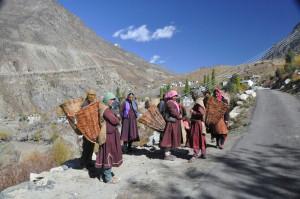 तमाम कठिनाईयों के बावजूद लाहौलियों के चेहरे पर न तो शिकन है, न कोई थकान।
