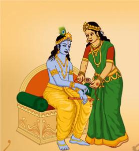 आर्दश प्रेम प्रतीकण् सद्भावनों से भरा हुआ त्यौहार रक्षाबन्धन