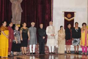 राष्ट्राध्यक्षों का औपचारिक स्वागत समारोह