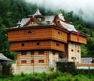 संपूर्ण हिमाचल में वास्तुकला की दृष्टि से चार प्रकार के मंदिर मिलते हैं