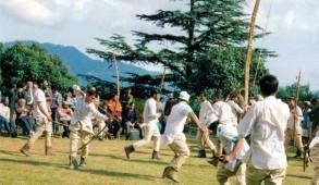 महाभारत के इतिहास से जुड़ा खेल, नृत्य व नाट्य का सम्मिश्रण ठोडा