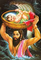 भाद्रपद कृष्ण अष्टमी को श्रीकृष्ण जन्माष्टमी कहते हैं
