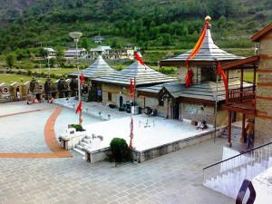 हाटकोटी में महिषासुर र्मदिनी का पुरातन मंदिर