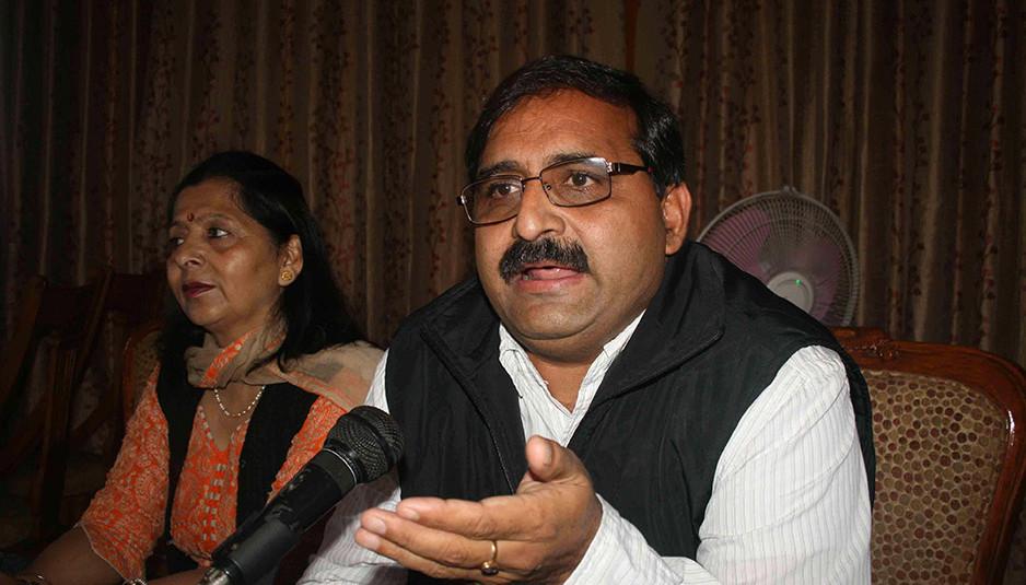 भाजपा प्रदेश अध्यक्ष के भाषण के एक छोटे से हिस्से को कांट-छांट कर जनता को गुमराह करने का कर कांग्रेस रही प्रयास : रणधीर शर्मा