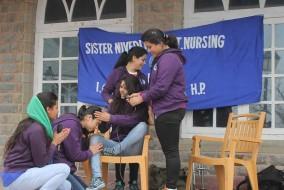 नर्सिंग कॉलेज की छात्राओं ने किया पीलिया के बारे जागरूक