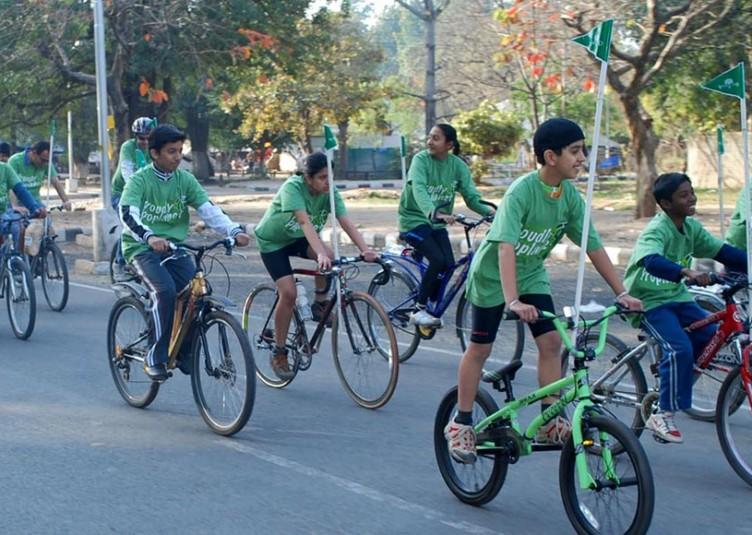 14 अप्रैल से 16 अप्रैल तक साईकिल रैली