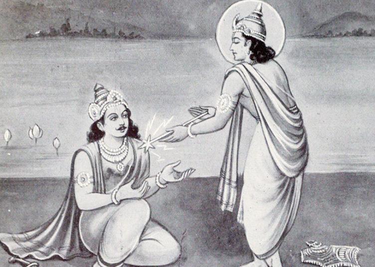 """महायोद्धा कर्ण ने गुप्त रूप से धनुर्धारि अर्जुन को दिया था.. """"जीवनदान"""""""