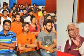 शूलिनी विवि में लैक्चर का आयोजन, भूतपूर्व वाइस चीफ़ लेफ्टिनेंट जनरल विजय ओबेरॉय हुए छात्रों से रूबरू