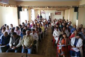 प्रधानमंत्री मोदी की शिमला में होने वाली ऐतिहासिक ''परिवर्तन रैली'' की तैयारियों को लेकर बैठक आयोजित