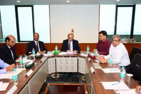 एसजेवीएन द्वारा राजभाषा हिन्दी के प्रयोग को बढ़ाने के उद्देश्य हेतु बैठक आयोजित