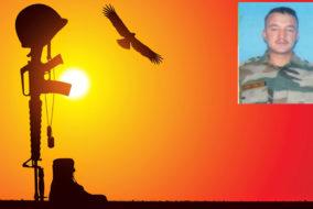 श्रीनगर में आंतकियों से मुठभेड़ में हिमाचल का जवान शहीद