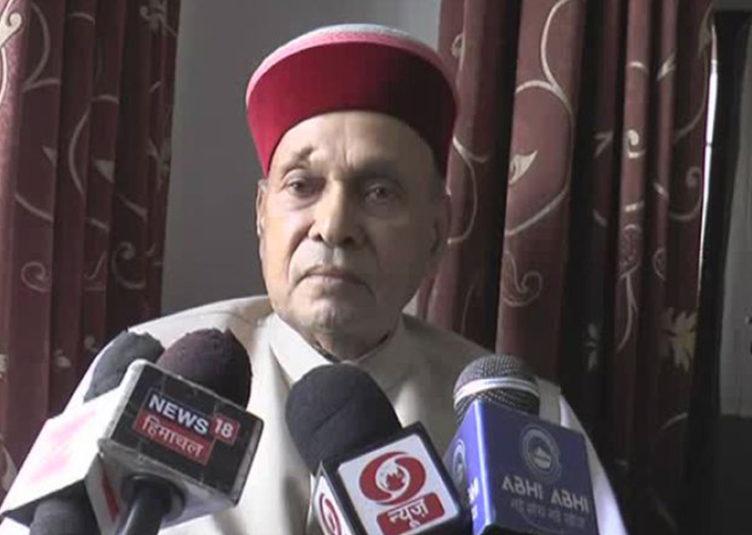 प्रदेश की जनता कांग्रेस सरकार के कार्यकाल से त्रस्त: प्रो.धूमल