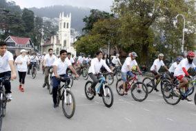 """मतदान के प्रति जागरूकता """"साईकिल रैली"""" आयोजित"""