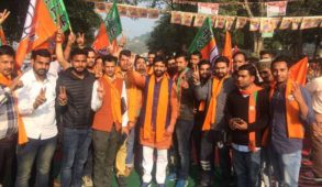 वीरभद्र सरकार ने बेरोजगारी भत्ते के नाम पर ठगे युवा, भाजपा देगी रोजगार : अरुण धूमल