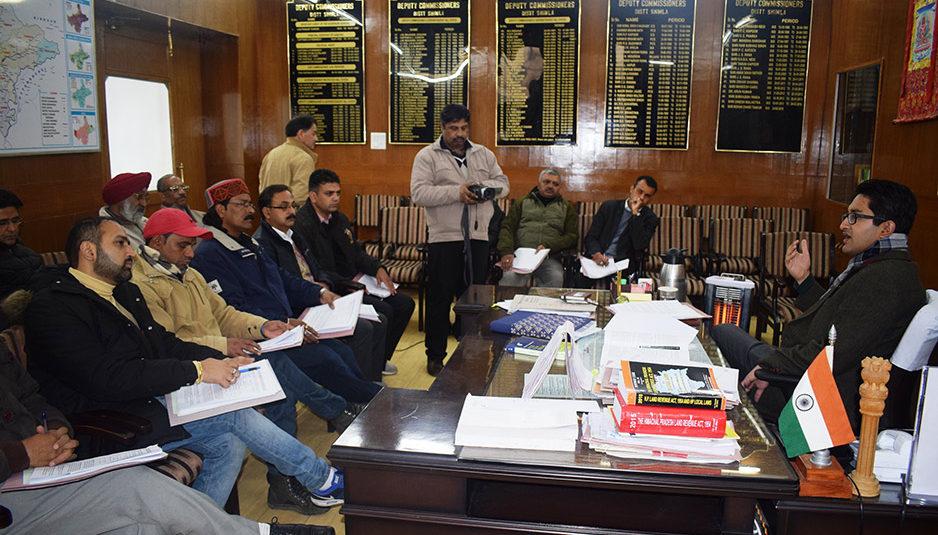 मतगणना के लिए जिला शिमला में 8 स्थानों पर होंगे केंद्र स्थापित