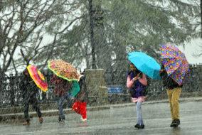 हिमाचल: वीरवार को भारी बारिश की चेतावनी