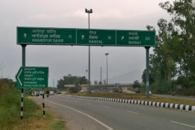 Four lane roads in Himachal Pradesh