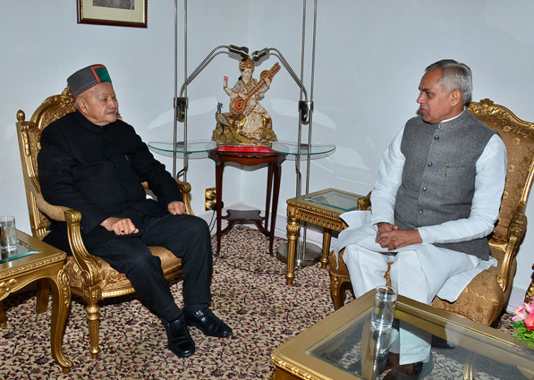 मुख्यमंत्री ने सौपा त्यागपत्र