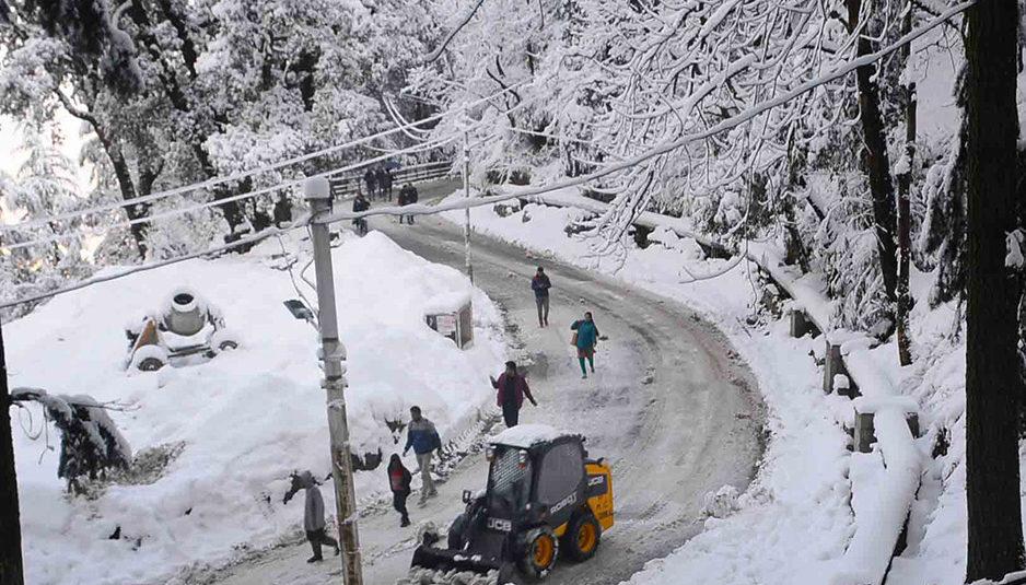 21 फरवरी तक भारी वर्षा एवं बर्फबारी की चेतावनी...