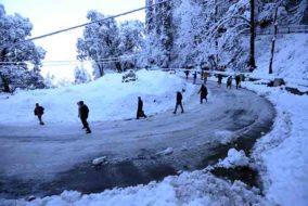 हिमाचल में 23 से 25 फरवरी के मध्य हो सकती है बारिश व बर्फबारी