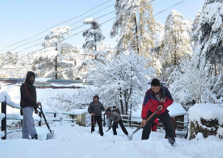 हिमाचल: 14 -15 फरवरी को भारी बारिश-बर्फबारी और आलोवृष्टि के आसार