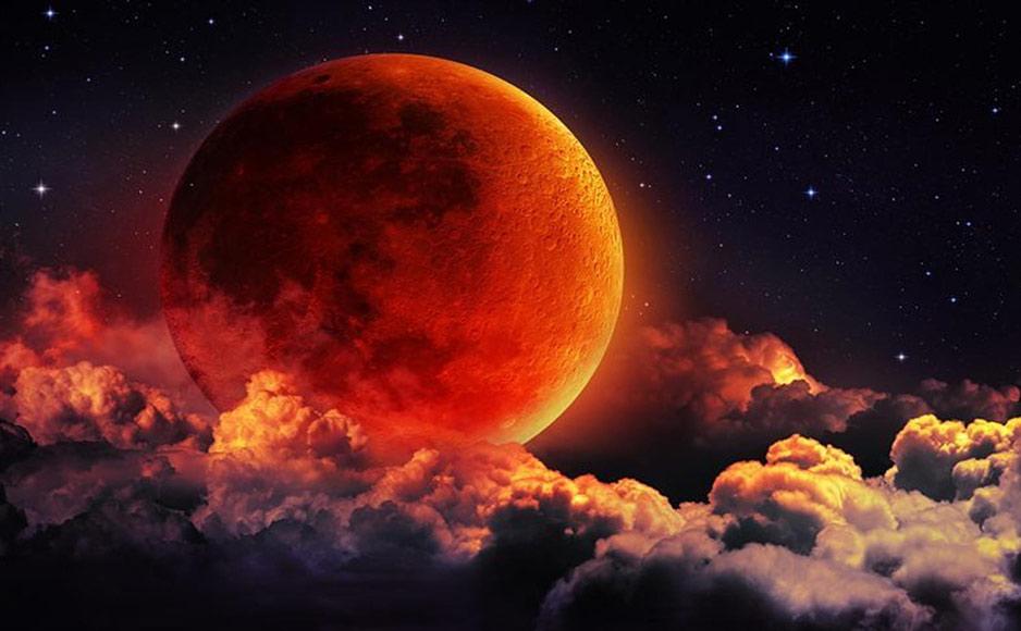 रात 11 बजकर 54 मिनट से होचंद्र ग्रहण आज रात 10:37 पर शुरू