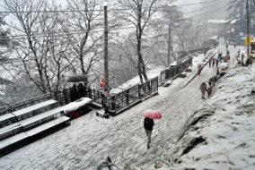 हिमाचल: 19 से 23 फरवरी तक बारिश-बर्फबारी के आसार