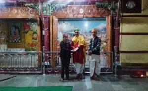 राजा जगतसिंह के समय हुआ श्री रघुनाथ का आगमन