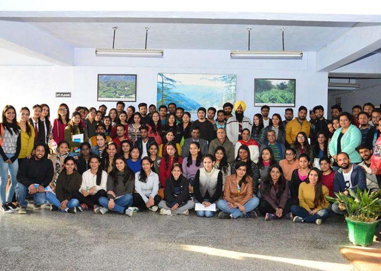 नौणी विश्वविद्यालय के छात्रों के लिए व्यक्तित्व विकास सत्र आयोजित