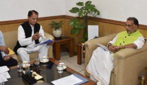 'पुष्प क्रान्ति योजना' के लिए बागवानी मंत्री ने की 150 करोड़ की मांग