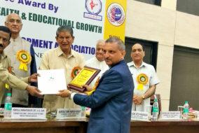 नौणी विवि के वैज्ञानिक को मिला 'भारत शिक्षा रतन' पुरस्कार
