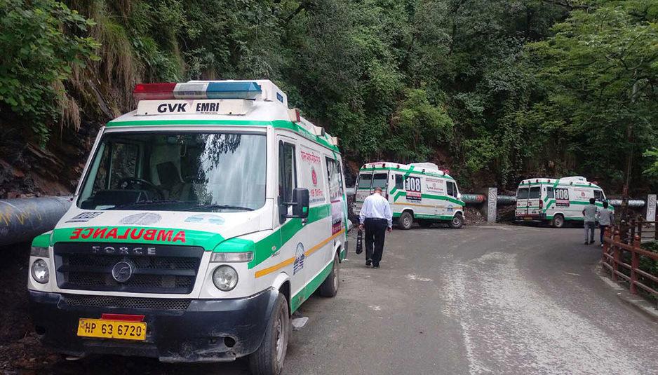 हिमाचल: कंपनी जारी रखेगी 108 एंबुलेंस सेवाएं