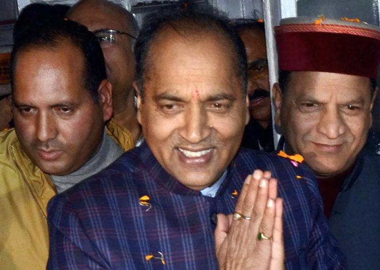 मुख्यमंत्री जयराम दिल्ली चुनाव में प्रचार के लिए रवाना