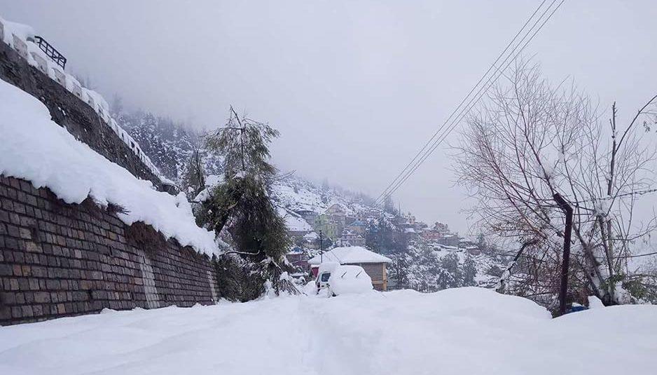 हिमाचल: उच्च पर्वतीय क्षेत्रों में बुधवार को बर्फबारी के आसार