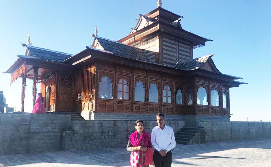 """शिमला की खूबसूरत पहाड़ी पर """"माँ तारादेवी"""" का त्रिगुणात्मक शक्तिपीठ धाम का इतिहास"""
