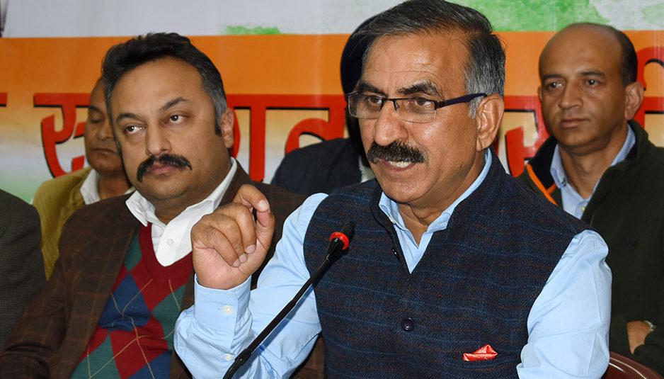 लोकसभा चुनाव से पहले होगी कांग्रेस में बागियों की वापसी, मजबूती के साथ चुनाव में उतरेगी पार्टी: सुक्खू