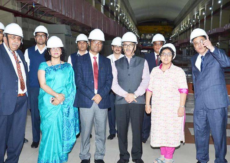 केन्द्रीय विद्युत सचिव ने किया एसजेवीएन की एनजेएचपीएस में नवनिर्मित सौर ऊर्जा संयंत्र का लोकार्पण व सौर ऊर्जा प्रोजेक्ट की रखी आधारशिला