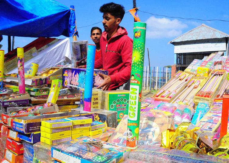 शिमला: दिपावली के मध्य नजर पटाखों की बिक्री को लेकर स्थान चिन्हित