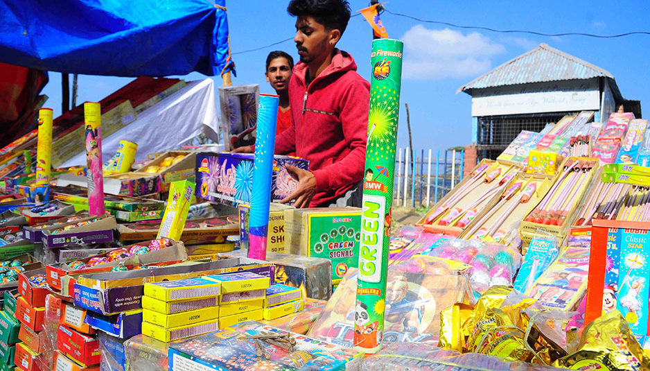 शिमला ग्रामीण में पटाखों की बिक्री व आतिशबाजी बेचने के लिए स्थान चिन्हित