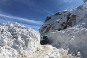 ताजा बर्फबारी : रोहतांग दर्रा फिर बंद, प्रदेश में कड़ाके की ठंड