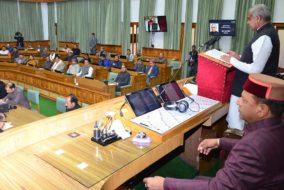 हिमाचल विधानसभा बजट सत्र आरम्भ, राज्यपाल ने की जयराम सरकार के एक साल के बेहतरीन कार्यों की सराहना