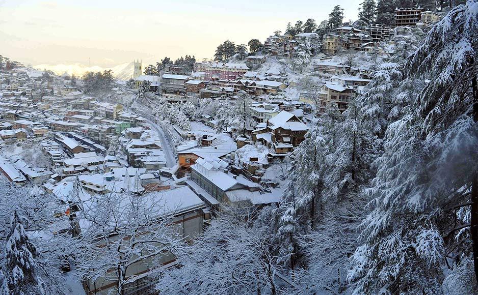 हिमाचल: 5 जिलों में 12-13 दिसंबर को बारिश-बर्फबारी की संभावना