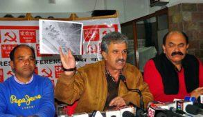 आरएसएस के लोग कर रहे हैं विवि में मौहाल बिगाड़ने की कोशिश : माकपा