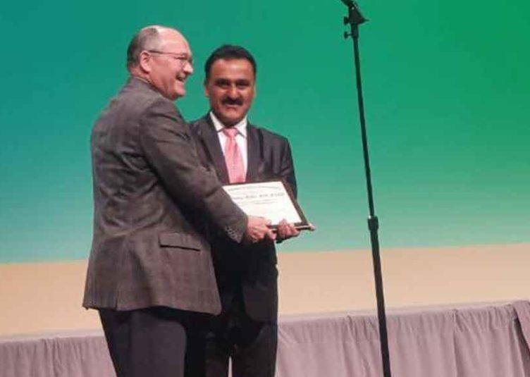 """आईजीएमसी मेडिसन विभाग के डॉ. मोक्टा """"अमेरिकन कॉलेज ऑफ क्लीनिकल एंडोक्रीनोलॉजी सर्विस"""" अवार्ड से सम्मानित"""