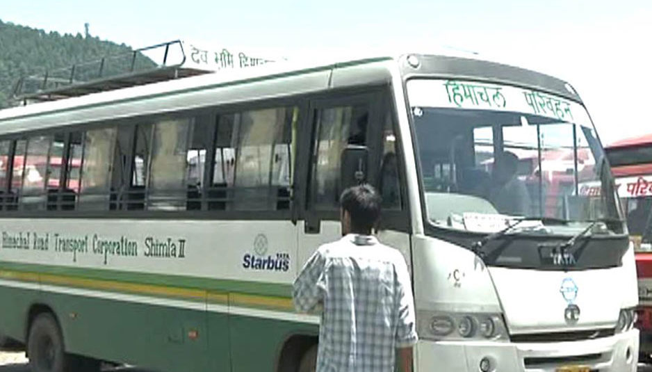रोहड़ू: एचआरटीसी की दो बसें टकराईं, नौ यात्री घायल